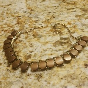 Beautuful brown tone thermostat necklace PM 665